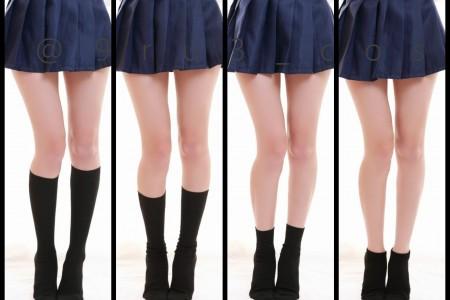 你是喜欢丝袜或是袜子?我全都要!