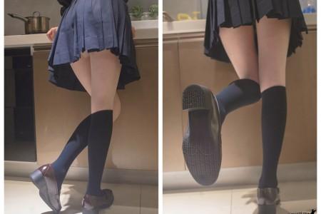 JK制服与长筒袜@木花琳琳是勇者