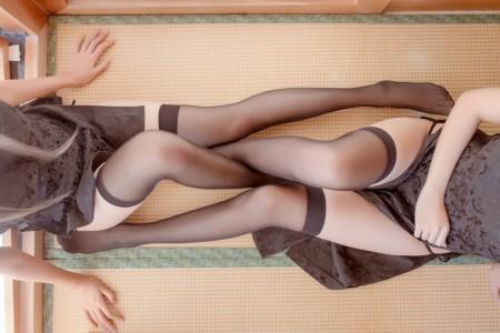 萌系小姐姐木绵绵OwO系列——魔女旗袍&小野妹子