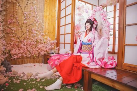 加藤惠 和服@桜桃喵