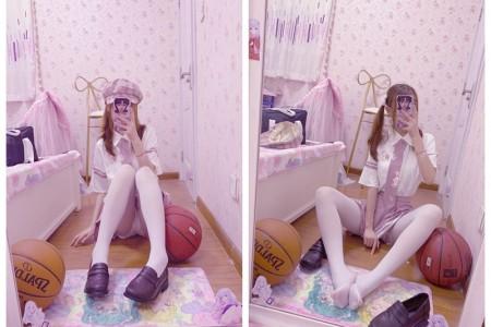 [赛高小仙女] H工口小学生赛高 - 粉色萝莉裙