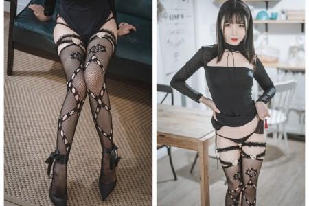 面饼仙儿 - 黑蛇袜