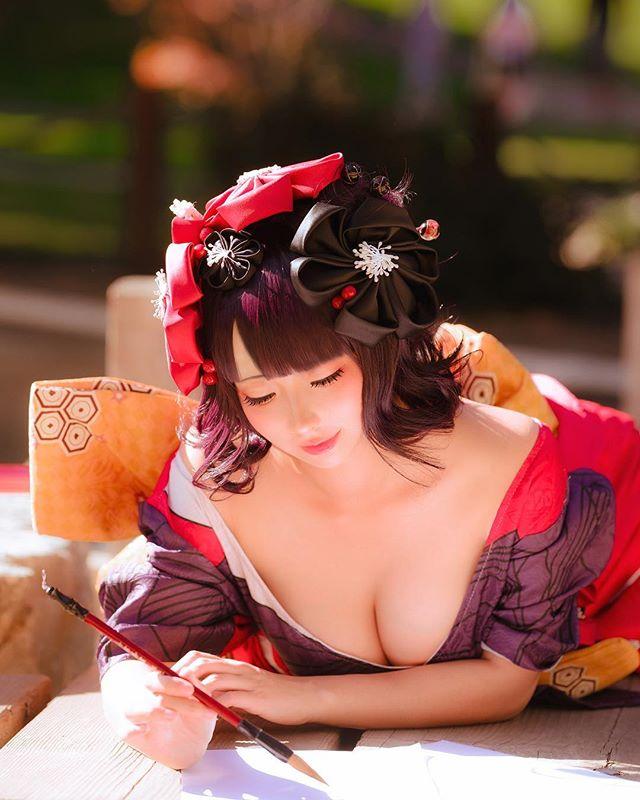 美国华裔萌妹「WENDY酱油」集结可爱及性感于一身的童颜巨乳 13