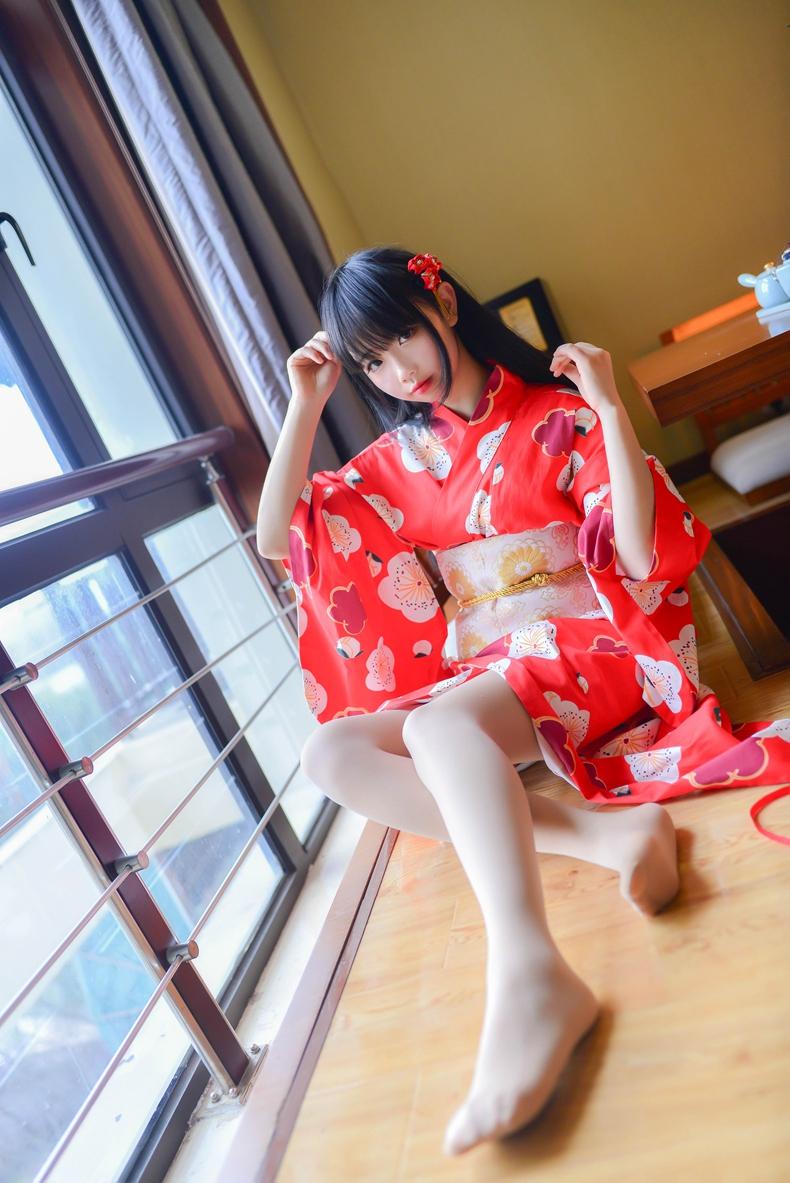 日系浴袍@雪琪SAMA 1