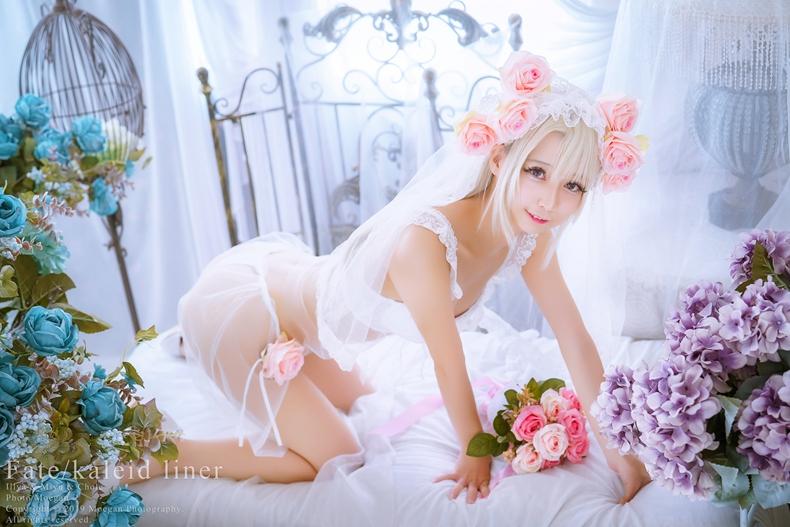沖田凜花Rinka 花嫁 - Fate/kaleid liner 4