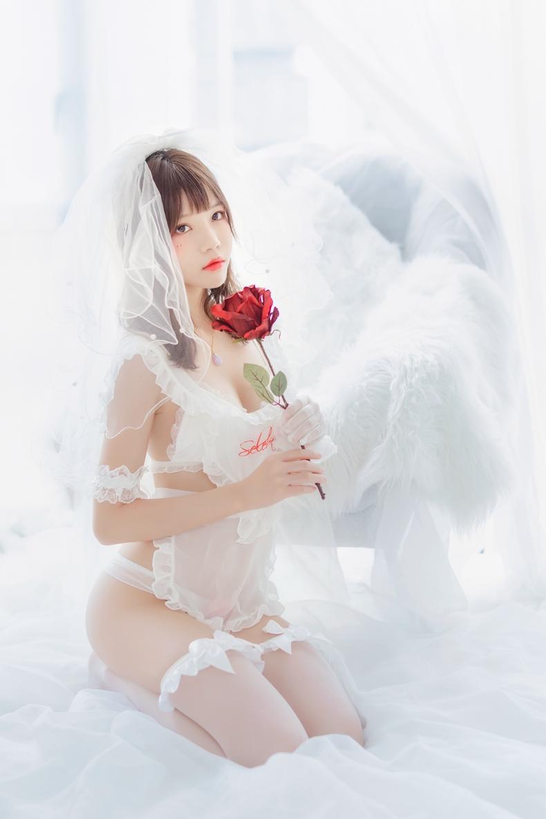 桜桃喵 - 轻纱花嫁 1