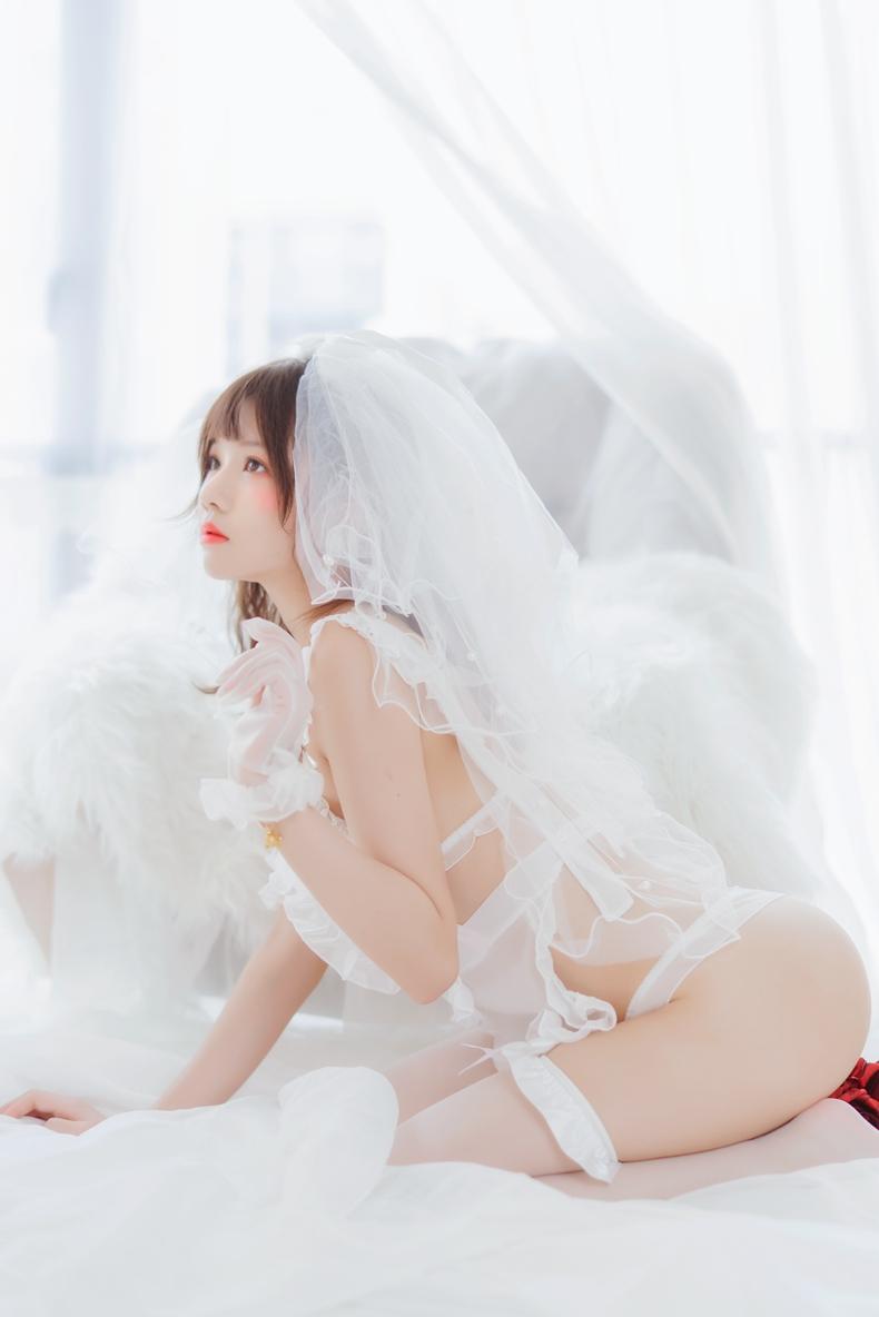 桜桃喵 - 轻纱花嫁 2