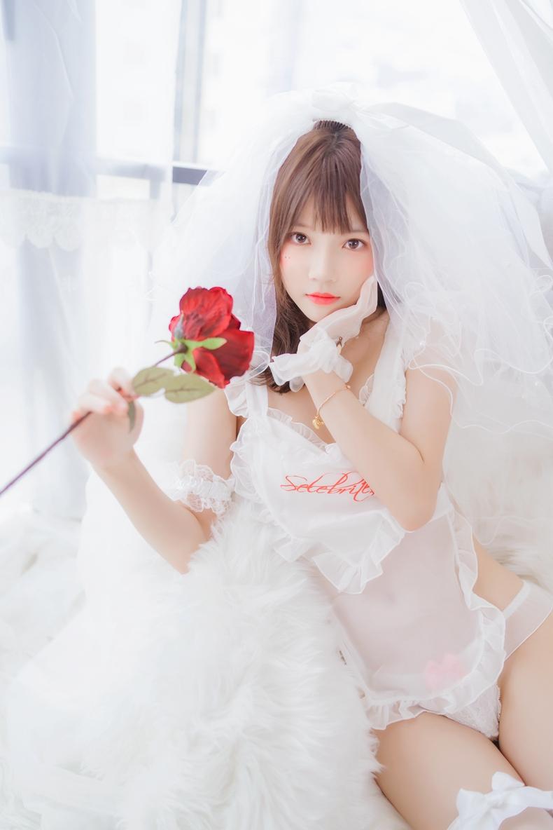 桜桃喵 - 轻纱花嫁 3