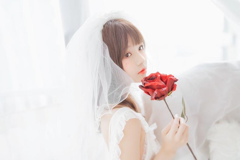 桜桃喵 - 轻纱花嫁 5