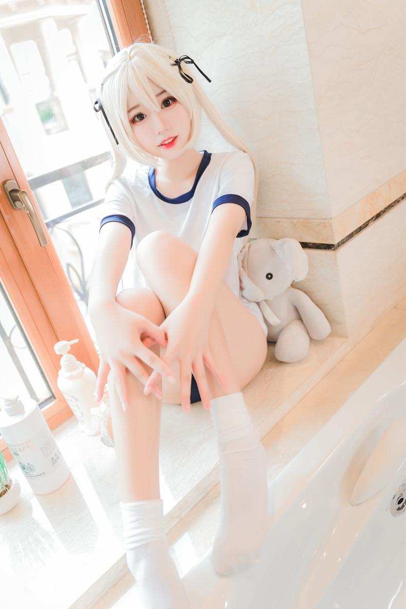 猫君君MaoJun - 体操服穹妹COS 4